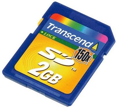 Transcend SD 150x