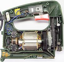 Электролобзика DWT ремонт, что внутри, замена подшипника, как работает, jig saw how it works, what's inside