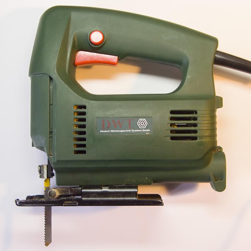 Электролобзик DWT - разборка, ремонт