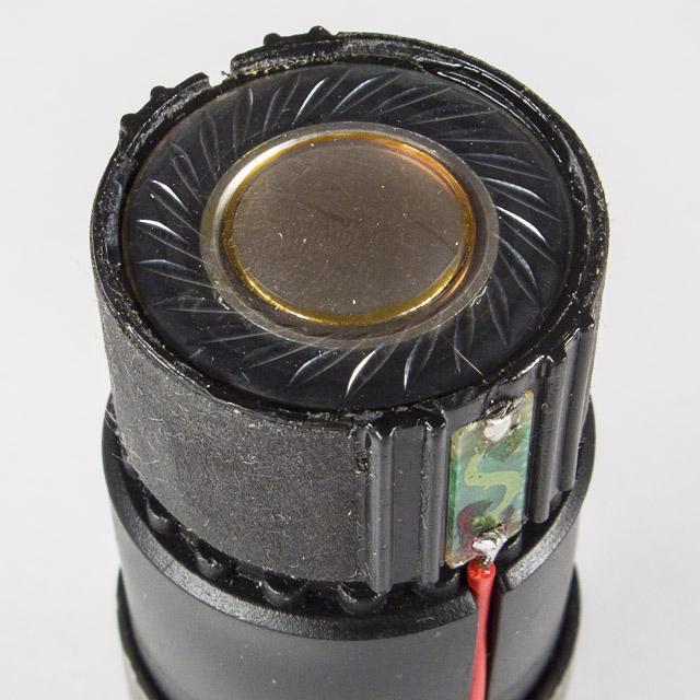 Мембрана, диафрагма динамического микрофона макро