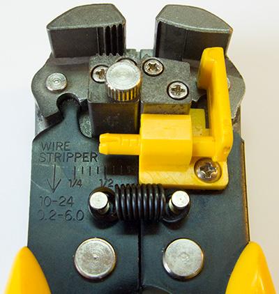 Лучший, самый удобный, отличный инструмент для зачистки проводов. Стриппер. Чем лучше снимать изоляцию - Wire Stripper K.Y.P.