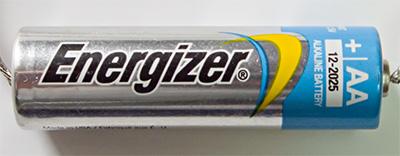 Батарейка Energizer с голубой головкой