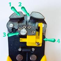 Самое лучшее приспособление для обдирки, зачистки электрических проводов от изоляции