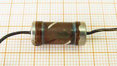 Мощность резистора по размеру 1