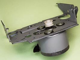Устройство коллекторных моторов двигателей из старых кассетных аудио магнитофонов, commutator motor inside, how it works