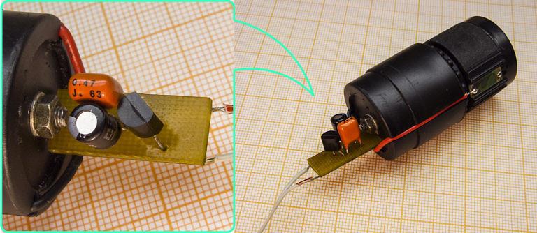 Готовый мини-усилитель для динамического микрофона, не требует внешнего питания