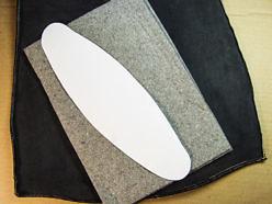 Материалы для мягкого подпоясничного упора офисного кресла.