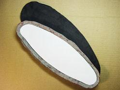 Изготовление мягкого чехла на поясничный упор.