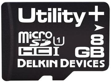 Delkin microSD Utility, Utility+ 128 GB