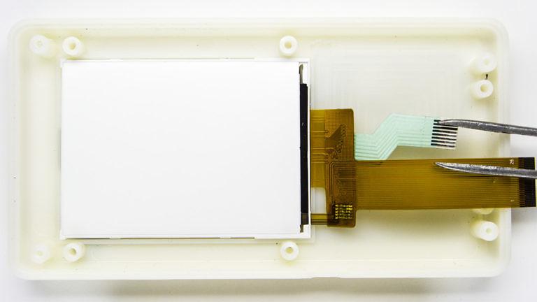 Экран, дисплей, кнопки передняя панель тестера радиации BR-6