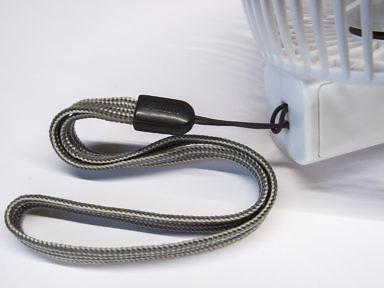 Ремешок для удержания в руке аккумыляторного складного вентилятора