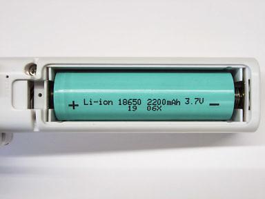 Какой аккумулятор в ручном вентиляторе - типо-размер 18650 на 3.7 вольт литий-ионный