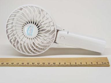 Размеры длина, ширина, толщина ручного складного аккумуляторного вентилятора