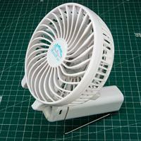 Ручной миниатюрный складной портативный аккумуляторный вентилятор с Алиэкспресса - Обзор. отзывы, размеры, опыт использования